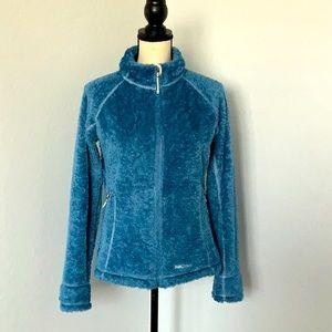 Marmot Blue Fuzzy Jacket Large